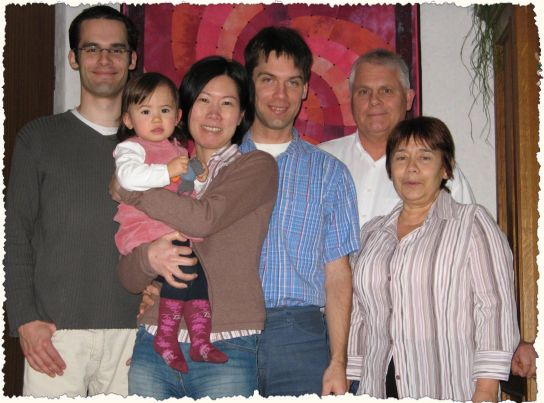 group portrait of the Karkat family as of Dec-2009